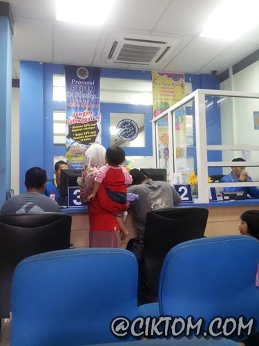 Kaunter PTPTN Cawangan Kuala Terengganu