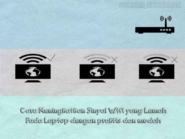 Cara Meningkatkan Sinyal Wifi Yang Lemah Pada Laptop Dengan Mudah Dan Praktis