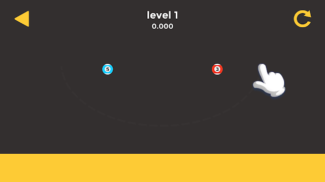 Ball & Ball Level 1 Solution, Walkthrough, Cheats for android and ios