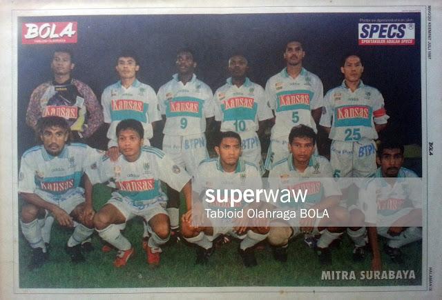 Tim Mitra Surabaya 1997 Liga Kansas
