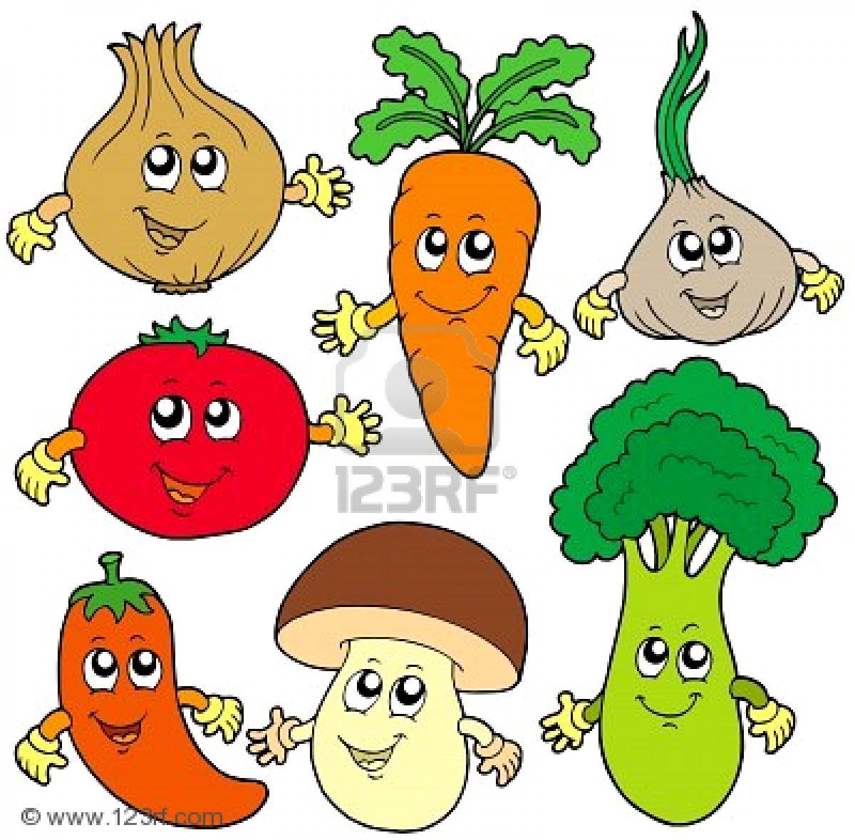 clip art cartoon vegetables - photo #6