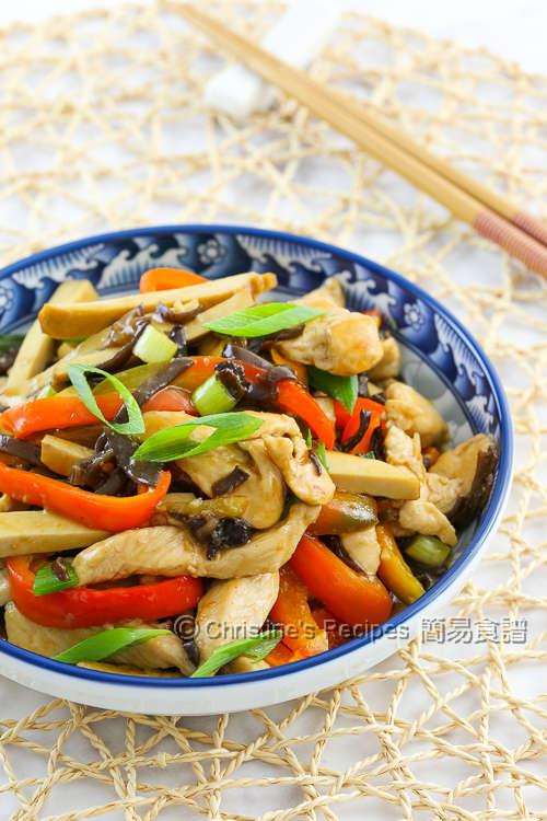 魚香豆乾雞絲 Spicy Tofu Chicken and Woodear02