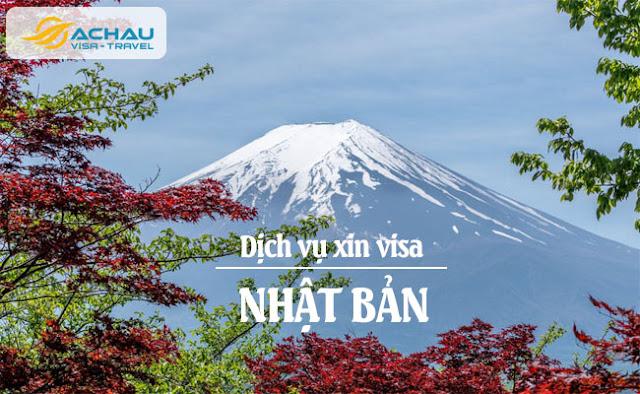 Các bước xin visa Nhật Bản