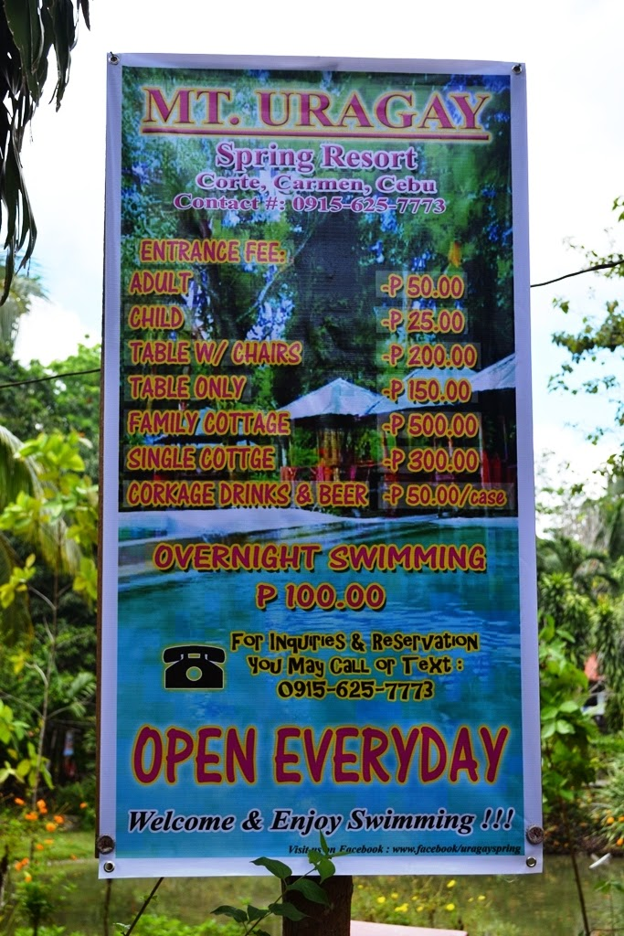 Mt Uragay Cold Spring Resort Rates