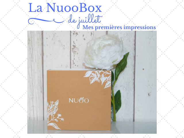 Mes premières impressions sur la NuooBox de juillet