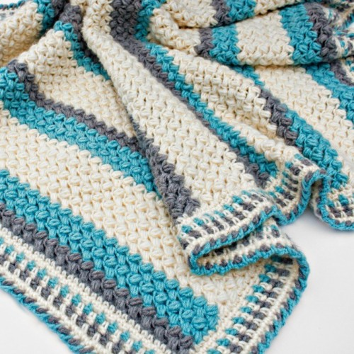 Pillow Soft Blanket - Free Pattern