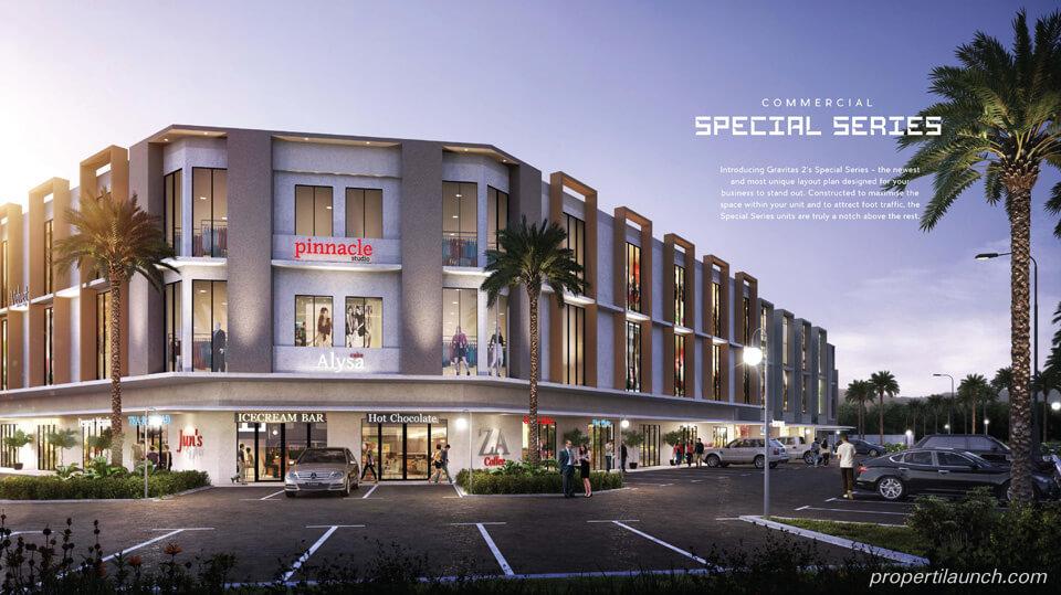 Dijual Ruko Gravitas West Lavon Swan City Tangerang