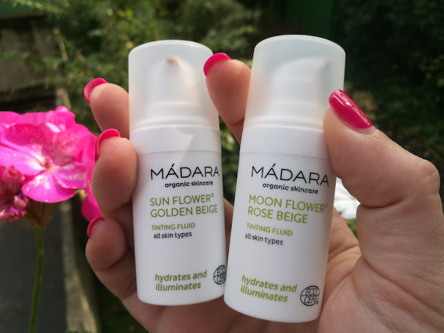 MÁDARA - Tinting Fluid - Crema colorata - Sun Flower - Moon Flower - travel size