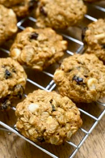 Cranberry White Chocolate Oatmeal Cookies: Savory Sweet and Satisfying