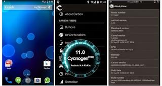Cara Upgrade Samsung Duos GT-I9082 ke Kitkat Dengan ROM Cyanogenmod 11 tanpa pc
