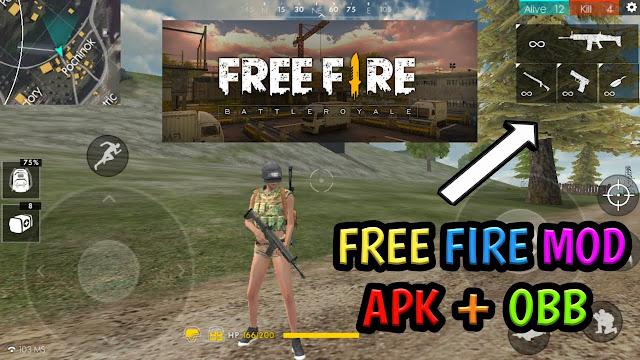 Free Fire - BattlegroundsMOD Apk