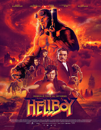 Hellboy (2019) Dual Audio Hindi PROPER 720p WEB-DL x264 1GB Movie Download