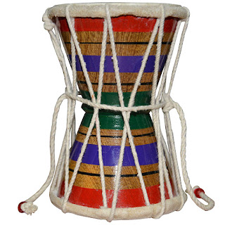 DronaCraft Damroo Handmade Indian Hand Percussion Musical Instrument