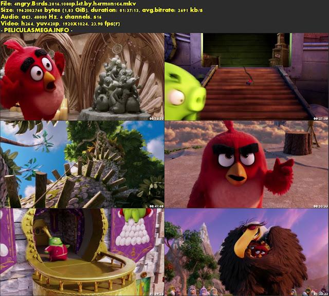 Descargar Angry Birds: La película Latino por MEGA.