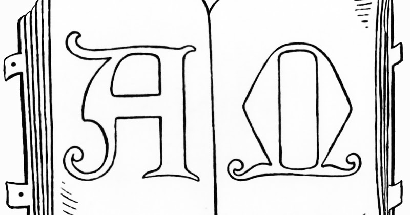Color The Bible The Alpha And Omega In Holy Scripture