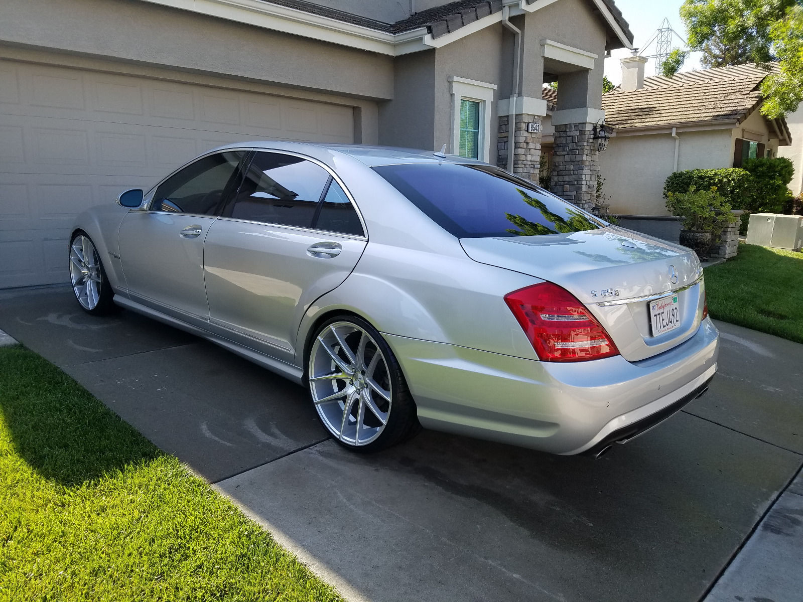 2007 mercedes benz w221 s550 on 22 niche wheels benztuning for Mercedes benz s550 rims