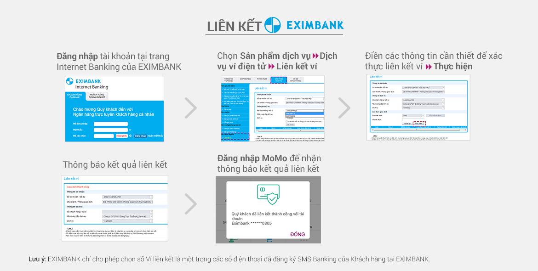Liên kết tài khoản EximBank