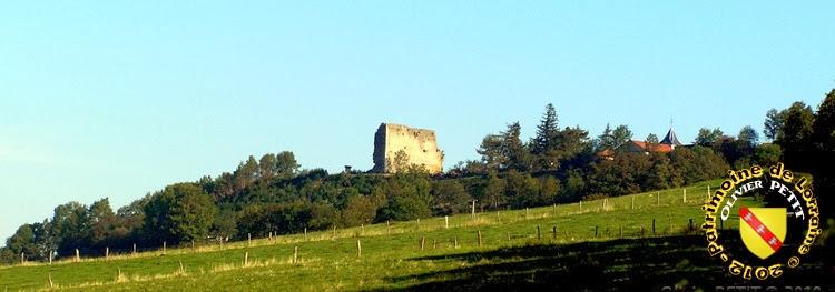 Le donjon roman de Vaudémont