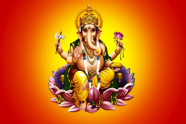 Happy Ganesh Chaturthi 2017 HD Wallpapers