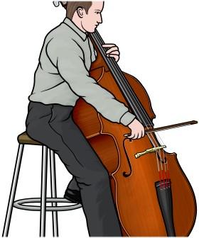 コントラバス contrabass(弓で演奏)