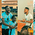 #BBNaija: Miracle Visits His Former School, Educates The Students, Plays With Them And Distributes Customized Jerseys Made Specially For Them! (Photos)