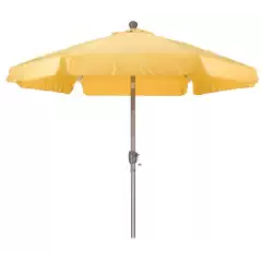 California Umbrella 7-1/2-Feet Wind Resistance Fiberglass
