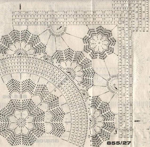 ❤ ✿ Mi Rincón del Tejido ✿ ❤: Carpeta diseño cuadrado con ...