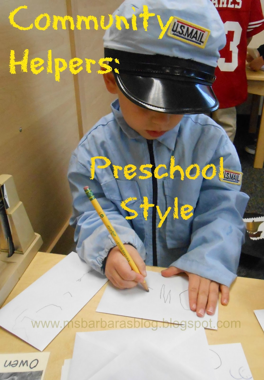 For The Children Community Helpers Preschool Style