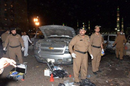 Kumpulan Foto/Gambar Korban Pelaku Bom Dekat Masjid Nabawi