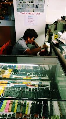 タイの時計屋さん