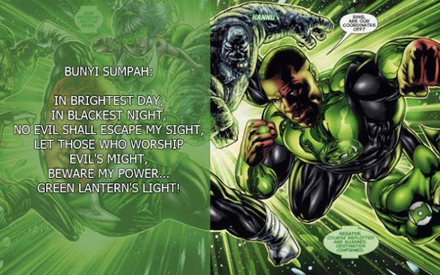 Macam-macam Lantern Corps dalam DC Universe