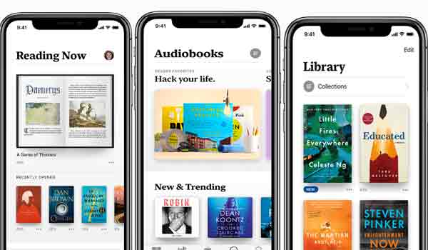 Apple Books, imagenes de Apple.com