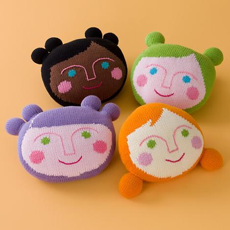 Carinhas-tricotadas