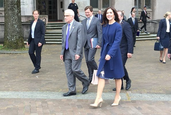 Crown Princess visited Novo Nordisk Research Center