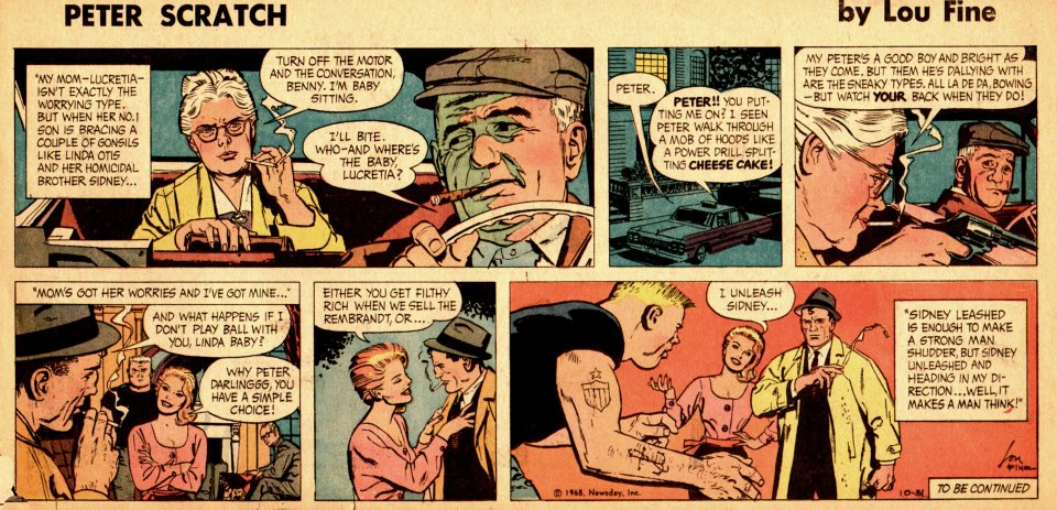 Pete and patsy comic strip
