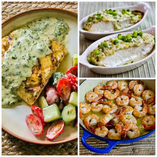 The BEST Deliciously Healthy Low-Carb Fish and Seafood Recipes from KalynsKitchen.com