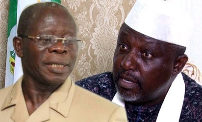 Okorocha calls for the arrest of Oshiomole