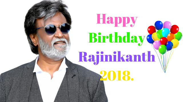 Rajinikanth Birthday Wishes  Happy Birthday Rajinikanth's fans are wishing him today