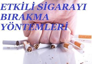 Etkili Sigarayı Bırakma Yöntemleri
