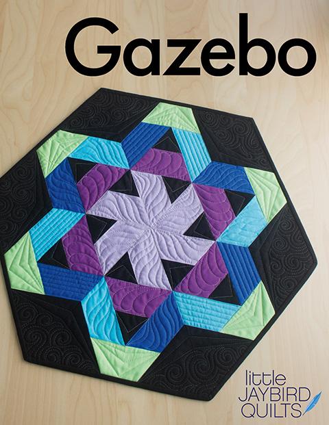 A New Jaybird Quilts Pattern: Meet Gazebo Table Topper! | Jaybird ... : jaybird quilt - Adamdwight.com