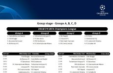 Calendario Champions Legue.Fixture Y Calendario De Partidos De La Uefa Champions League