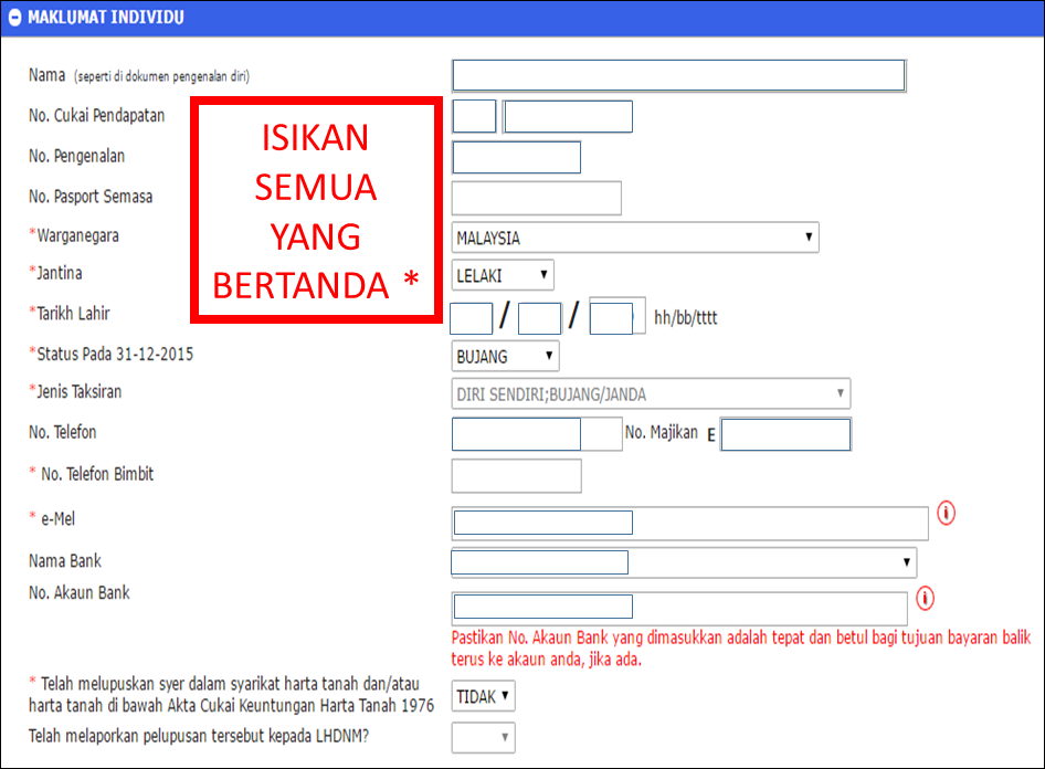 E Filing Lhdn Borang Online | newhairstylesformen2014.com