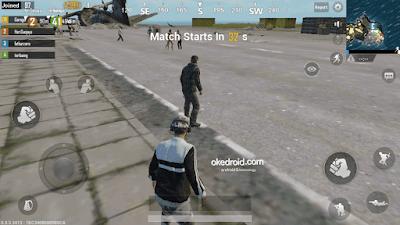 Sebelum mulai di terbangkan pesawat  ,kita akan menunggu dulu Game PUBG Mobile Android