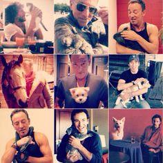 Bruce Springsteen loves animals