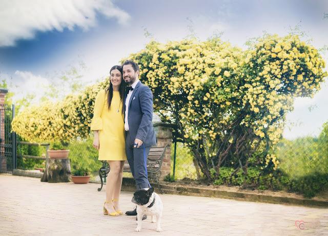 Effetto Brenizers,servizio fotografico di coppia alla Cascina Bric di Moncucco Torinese