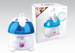 Ultradźwiękowy nawilżacz powietrza Bayby z Biedronki
