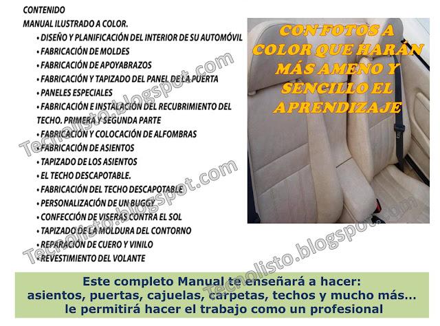 """""""Curso Manual Tapicería Automotriz-3"""""""