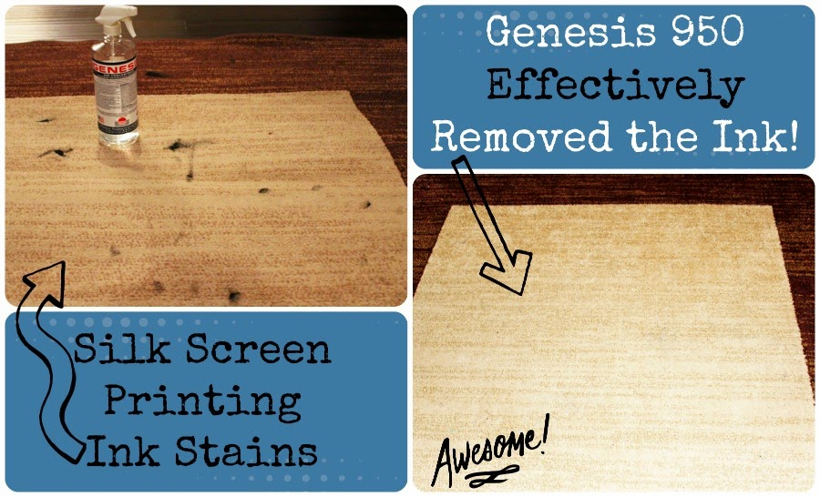 Remove ink stains from carpet