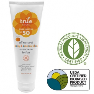 A YEAR OF JUBILEE REVIEWS: True Natural Sun Care Products