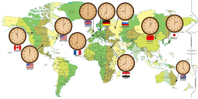 11 شيئاً لا تعرفه أبداً عن المناطق الزمنية